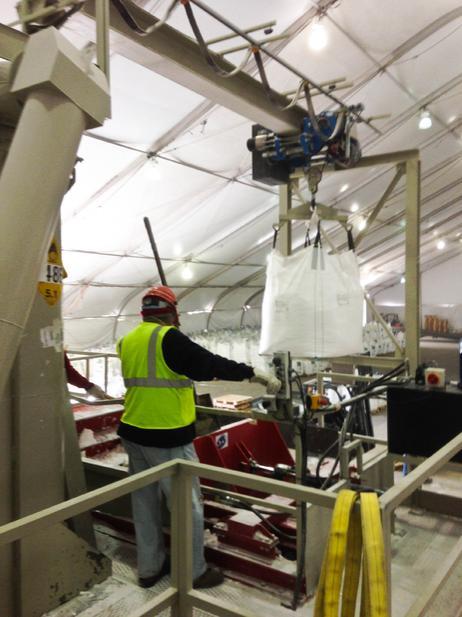 Melting Salts Process - Crescent Dunes